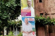 Wahlplakat Jürgen Schlupp in Elmstein